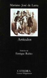 Artículos - Mariano José de Larra